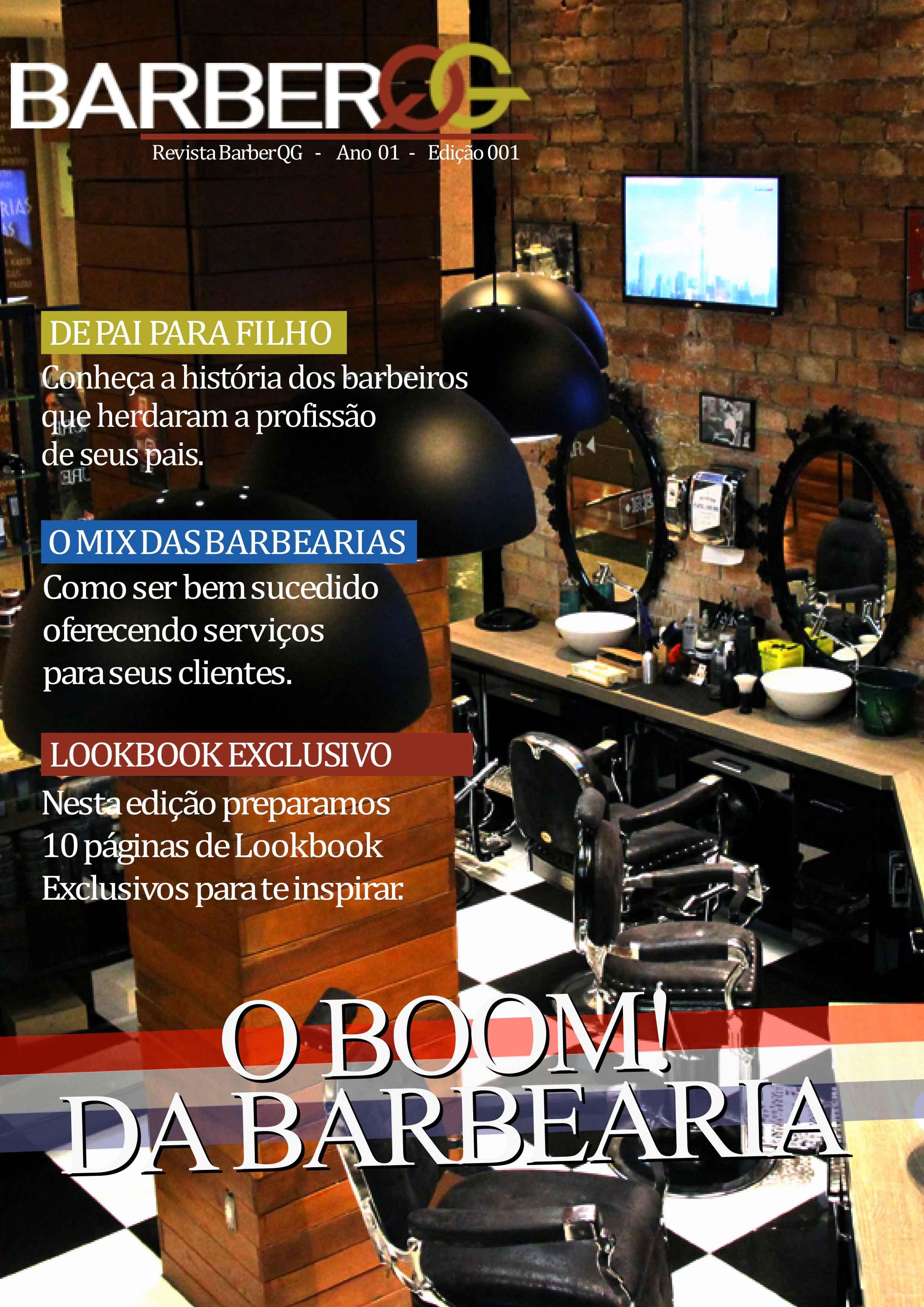 Revista BarberQG - Edição 001 Aug Capa