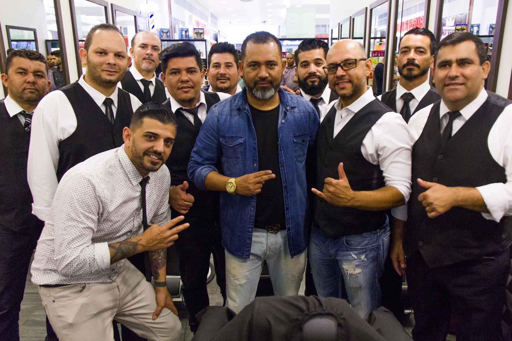 Equipe Barbearia Bar, Celso Barbeiro e Junior Santana