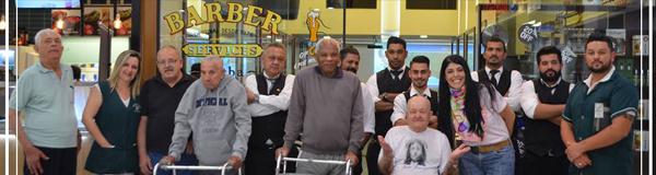 Barbearia Bar Comemora o Mês Dos Pais com Ação Social para o Projeto Velho Amigo