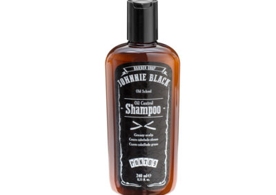 Shampoo Oil Control para Couro Cabeludo e Cabelo Oleoso – Johnnie Black