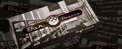 Gifts Cards é a sugestão de presente da Barbearia Bar para os pais vaidosos