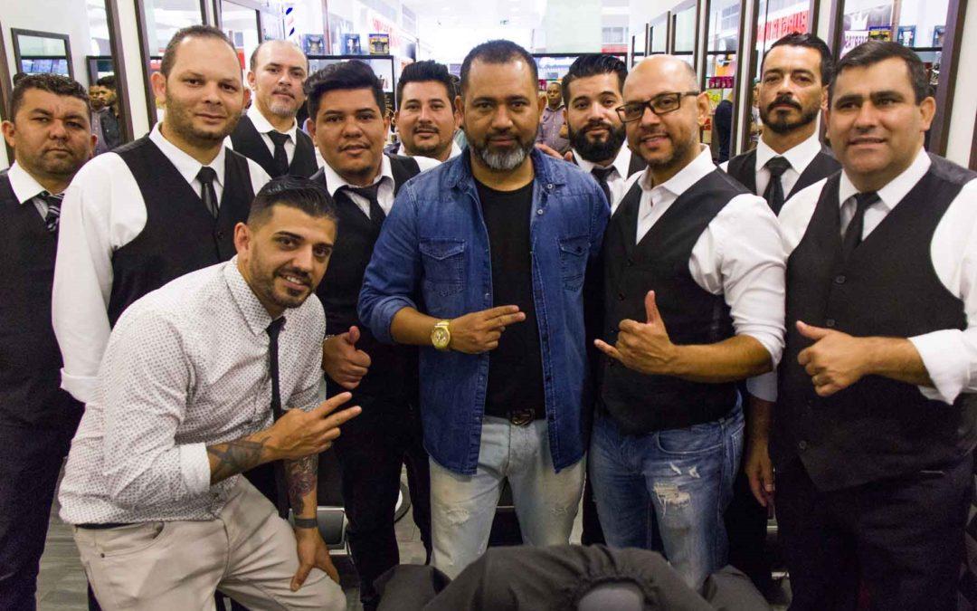 Em workshop Celso Barbeiro apresenta principais tendências em cortes masculinos e barba