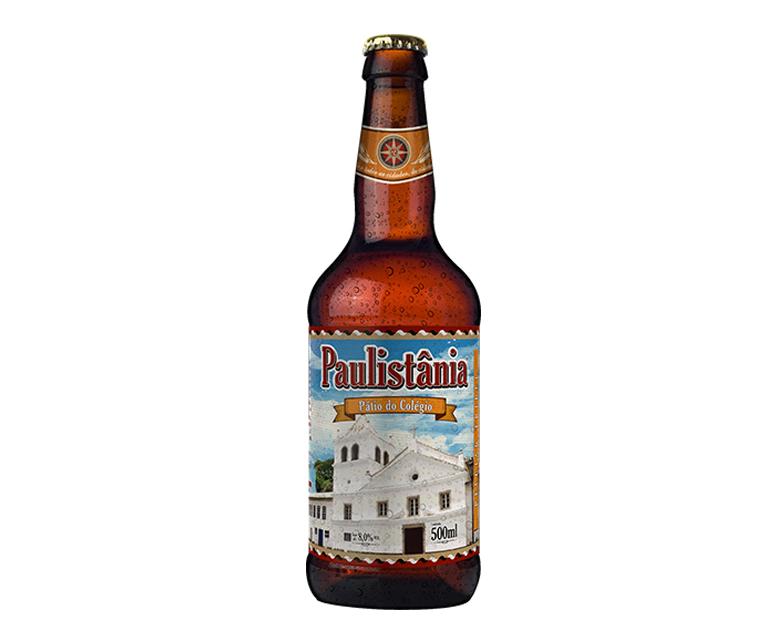 Cerveja Paulistania Craft Patio Colegio 500ml