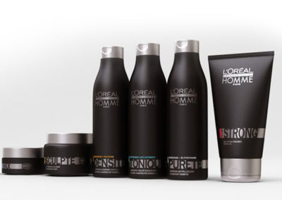 Linha Loreal Professionel Homme